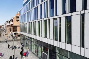 Glass facade Forsete Umeå